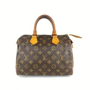 Louis Vuitton Monogram Speedy 25 Boston PM 7L923